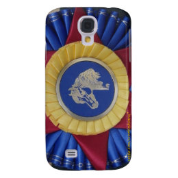 Horse Show Rosette -- Tricolor Samsung Galaxy S4 Cover