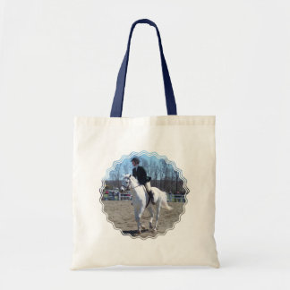 Horse Show Small Tote Bag
