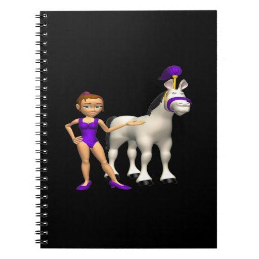 Horse Show Spiral Notebooks
