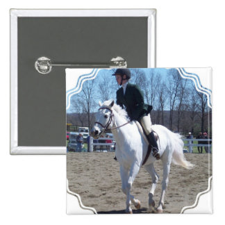 Horse Show Square Pin'