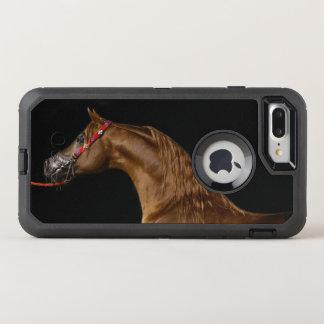 Horse Show Tough Chestnut Arab Stallion Phone case