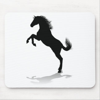 Horse Silhouette Animal Mouse Pad
