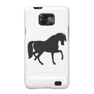 Horse Silhouette - Change background color! Samsung Galaxy SII Cover