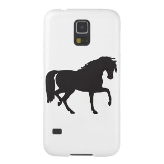 Horse Silhouette - Change background color! Galaxy S5 Case