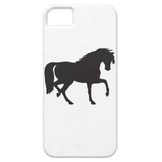 Horse Silhouette - Change background color! iPhone 5 Cover