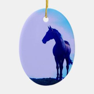 Horse Silhouette Design Ornament