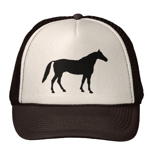 Horse Silhouette Hats