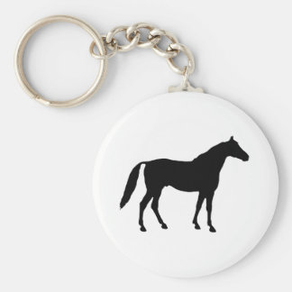 Horse Silhouette Keychain