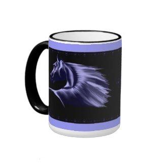 Horse Silhouette Mug mug