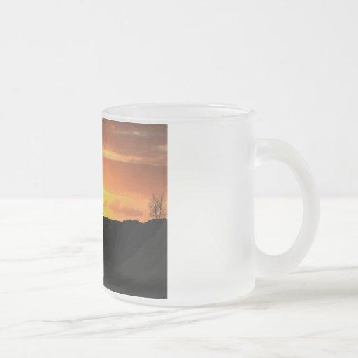 Horse silhouette coffee mug