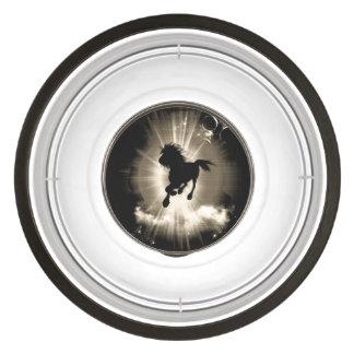 Horse silhouette pet bowl