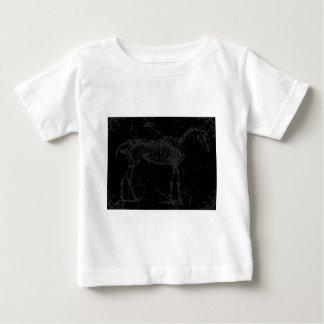 Horse skeleton gray baby T-Shirt
