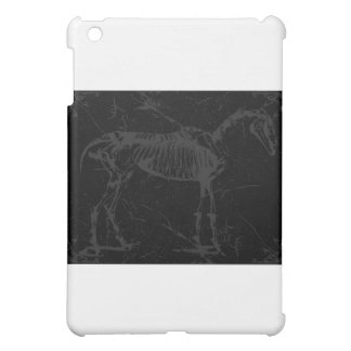 Horse skeleton gray cover for the iPad mini