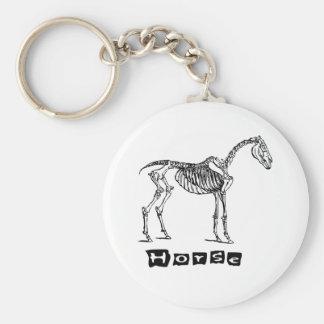 Horse (skeleton) keychain