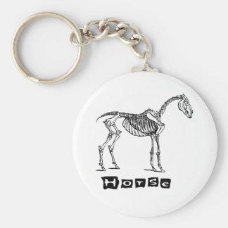 Horse (skeleton) key chains