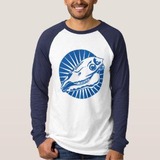 Horse Skull Blue T-Shirt