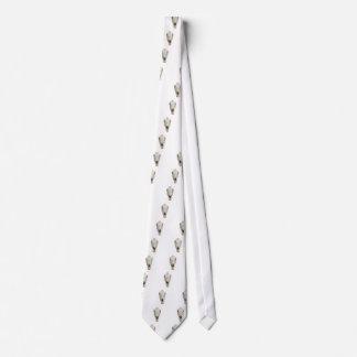 horse skull neck tie