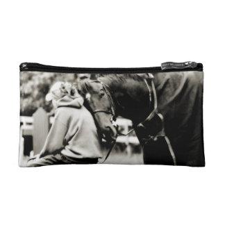 Horse Snuggles Makeup Bags