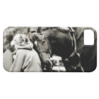 Horse Snuggles iPhone 5 Covers