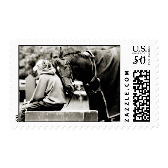 Horse Snuggles Postage