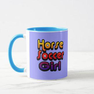Horse Soccer Girl Mug