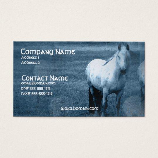 Horse Solitude Business Card