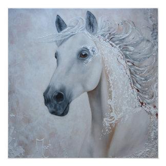Horse Square Print Card