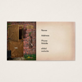 Horse Stable Business Card