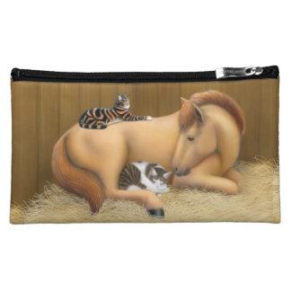 Horse Stable Cat Friends Bagettes Bag