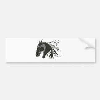 Horse ~ Stallion Wild Horses Bumper Sticker