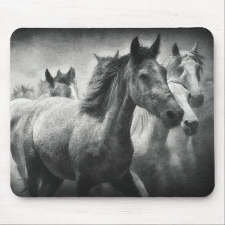 Horse Stampede Mousepad
