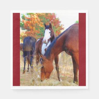 Horse Standard Luncheon Napkin