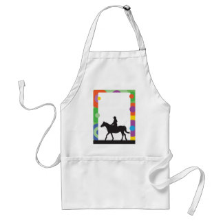 Horse Standing Adult Apron