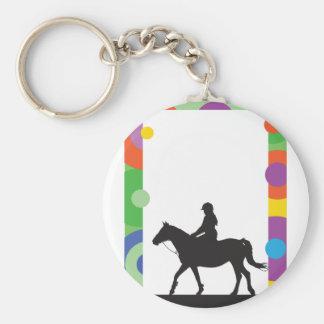 Horse Standing Keychain