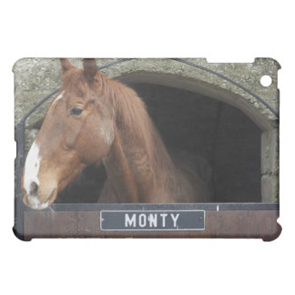 Horse standing looking out of its stable iPad mini covers