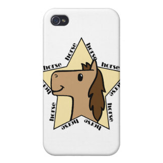 Horse Star Cases For iPhone 4