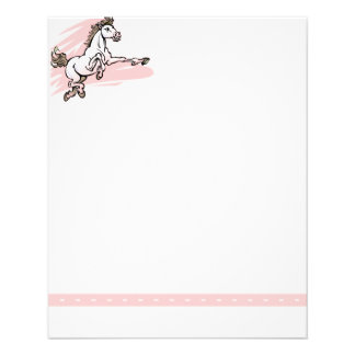 Horse Stationery Flyers