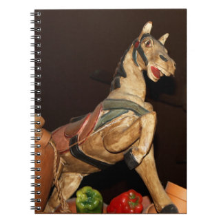 Horse Statue and Mexican Decor Photo Notebook
