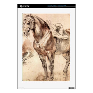 Horse studies by Paul Rubens Decal For PS3 Console