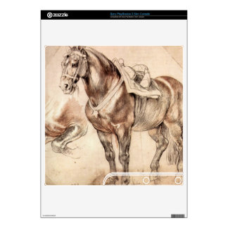 Horse studies by Paul Rubens Decals For PS3 Slim