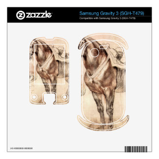 Horse studies by Paul Rubens Samsung Gravity 3 Skins