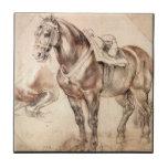 Horse studies by Paul Rubens Tile