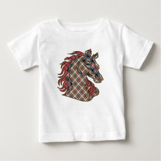 horse style quilt baby T-Shirt