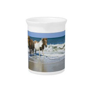 Horse Swim Design Pitcher