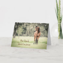 Horse Sympathy Card Loss of Horse