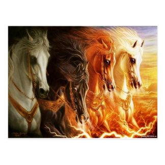 Horse Postales
