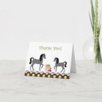 Horse Thank You Cards