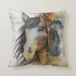 "HORSE THROW PILLOW<br><div class=""desc"">HORSE</div>"