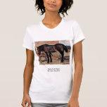 Horse To A Wagon By Fattori Giovanni Tee Shirt