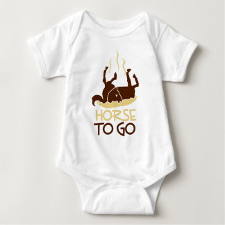 horse to go.png baby bodysuit